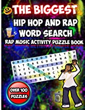 The Biggest Hip Hop and Rap Word Search: Rap Music Activity Puzzle Book Volume 1