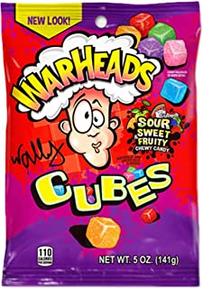 Warheads Sour Cubes 141g Pack American US Candy