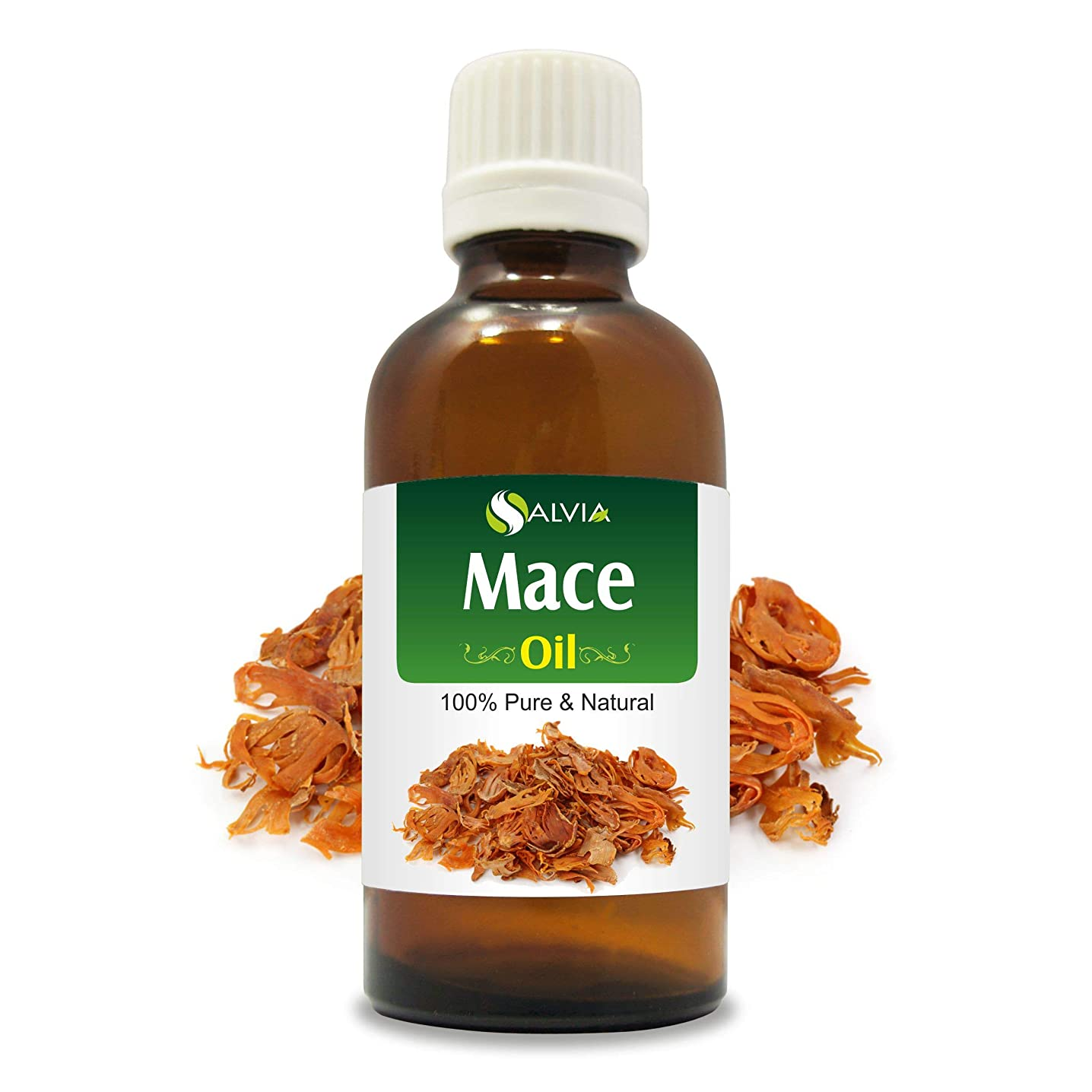 ラダ雑種援助Mace Oil (Myristica fragrans) 100% Natural Pure Undiluted Uncut Essential Oil 30ml