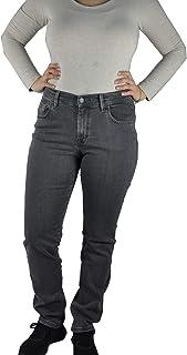 Pioneer 4012-3098 - Vaqueros para mujer con 5 bolsillos, color gris
