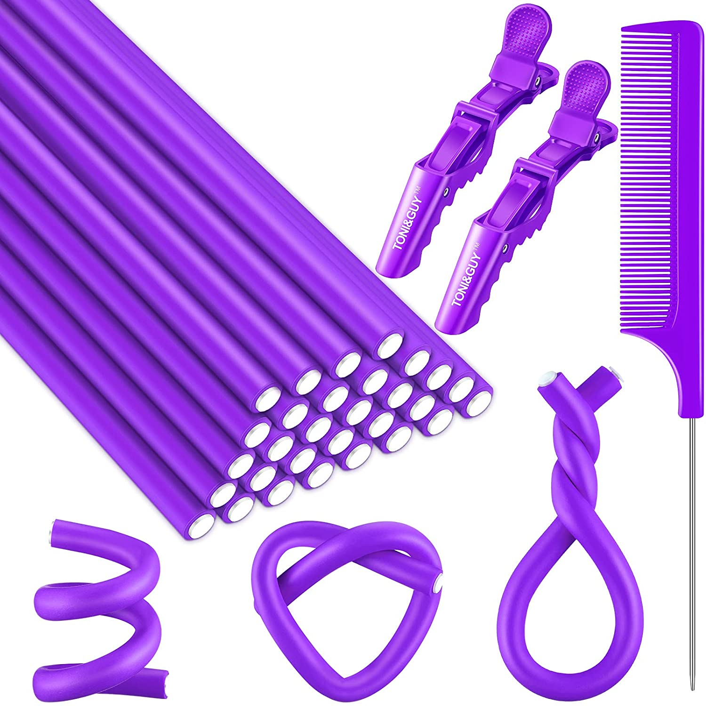 30 shopping Pieces Flexible Curling Rod Hair Heat Foam Curler Max 44% OFF No Soft Hai