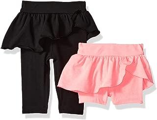 Baby Girls' Legging and Bike Short Bundle