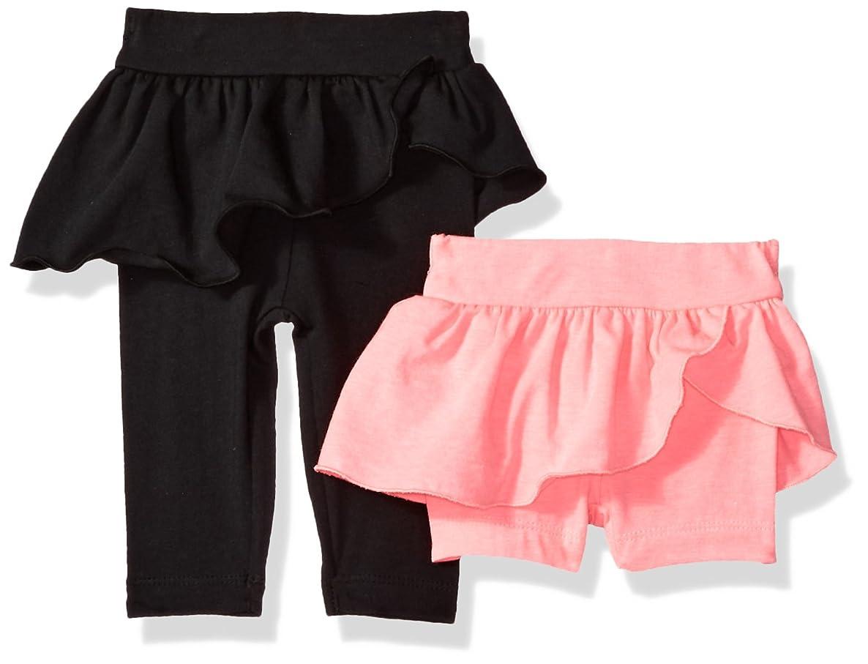 Gerber Baby Girls' Legging and Bike Short Bundle