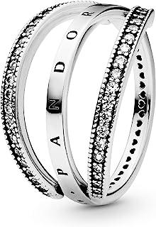 خاتم فضة استرليني للنساء من باندورا عيار 925