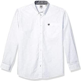 Men's Classic Fit Long Sleeve Button One Open Pocket Shirt