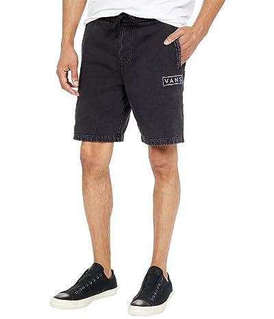 Vans Easy Wash Fleece Shorts (Black) Men
