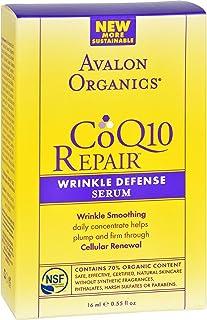 Avalon Organics Coq10 Wrk Def Serum