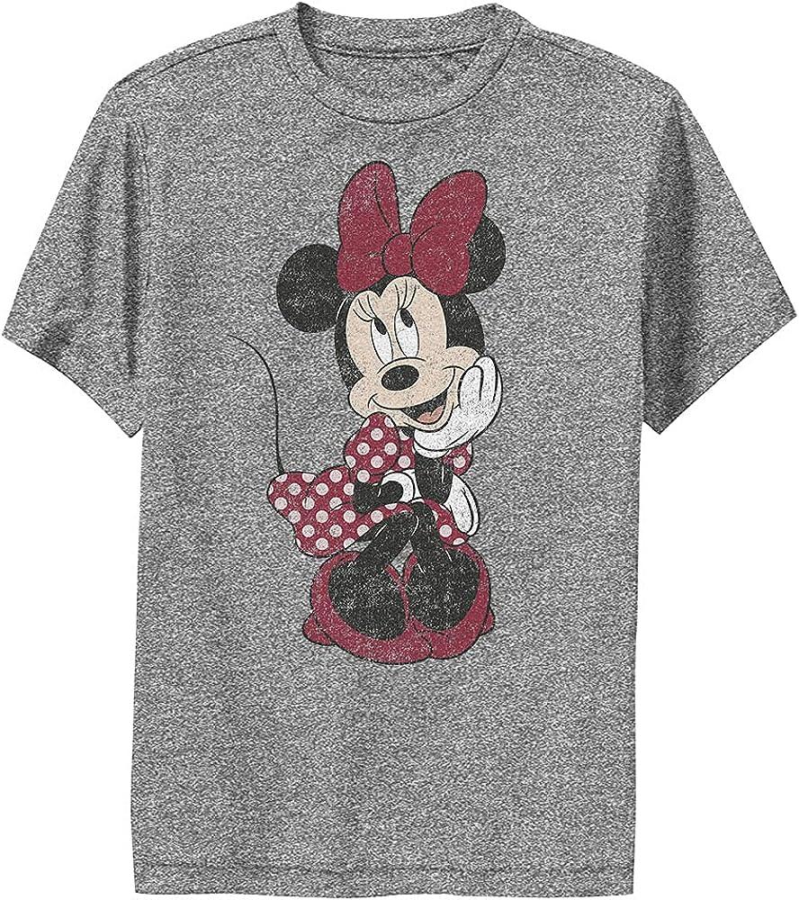 Disney Characters Polka Dot Minnie Boy's Performance Tee