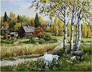 Best dimensions scenic farm cross stitch pattern Reviews