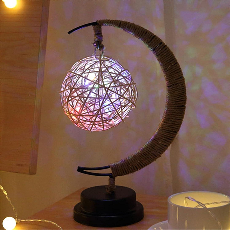 ANGSUANG Led Complete Free Shipping Fairy String Sacramento Mall Lights Handmade Lamp Night Hemp f Rope