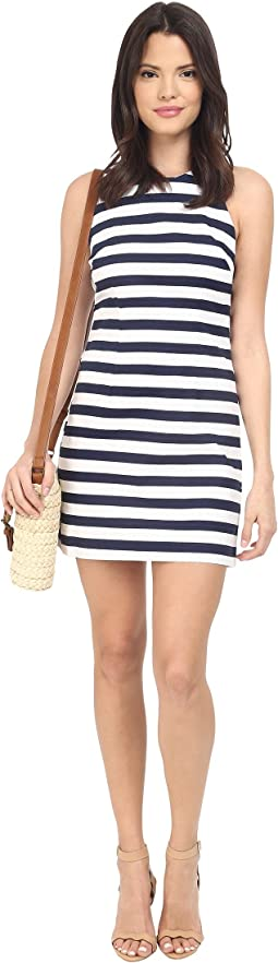 Robinson Stripe Cut Out Back Dress
