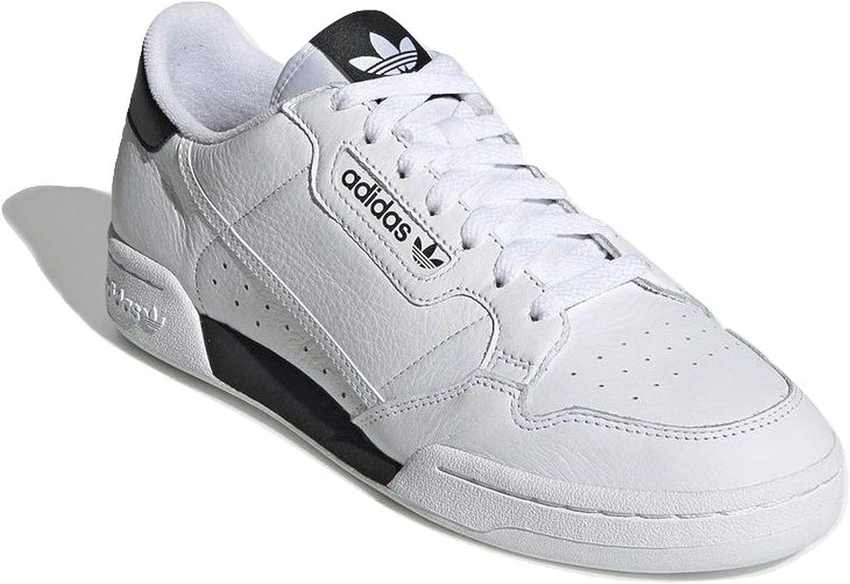 adidas Hombre Continental 80 Zapatillas Blanco, 40
