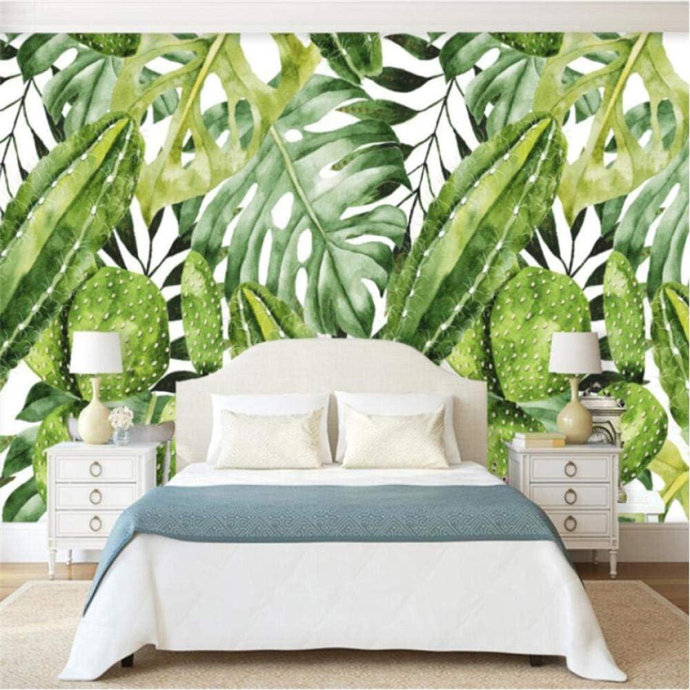 Free Shipping Cheap Max 65% OFF Bargain Gift Pbldb European Vintage Hand-Painted Leaf Banana Rainforest Cactu
