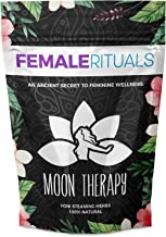 Female Rituals Moon Therapy (2 Ounce) Yoni Steaming Herbs - Natural Yoni Steam Detox - Holistic V Steam