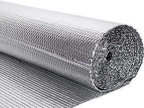 Tape Roll Double Foil Membrane Single Layer Air Bubble Wrap Aluminum Thermische Isolatie Roll For Muren, Vloeren, Daken, C...