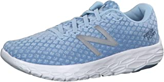 Women's Fresh Foam Beacon Running Shoe - Color: Air/Summer Sky/White (Regular Width) - Size: 9