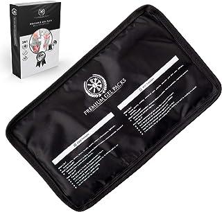 Compresse Gel Chaude & Froide Réutilisable (28x17 cm) - Poche de Glace avec Tissu Super Doux 100% Confort - Récupération M...