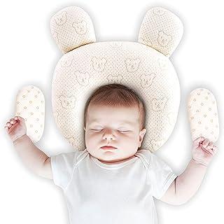 Upchase Almohada Para Bebé, Recien Nacido Plagiocefalia