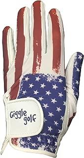 Giggle Golf USA Flag Women's Golf Glove