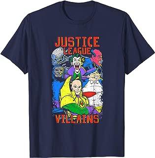 Justice League Villains T Shirt T-Shirt