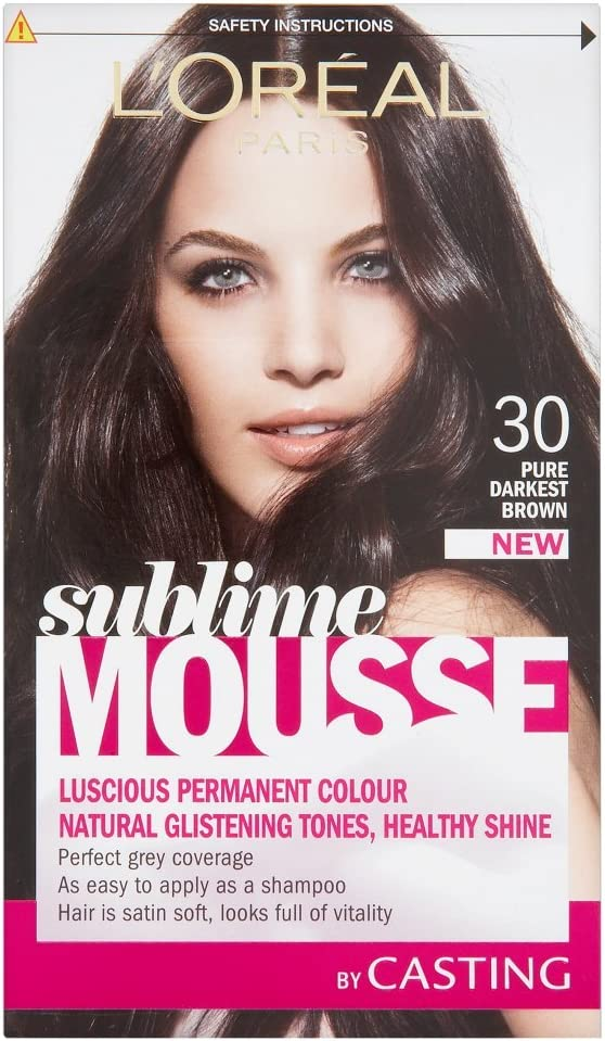 L Oreal Paris Sublime Mousse, Pure más oscuro marrón número 300