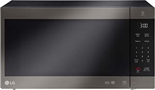 LG 56 Liters NeoChef Smart Inverter Microwave with Grill, Black stainless steel - MS5696HIT, 1 Year Warranty