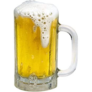 "Paper House Productions 3.5"" x 2.5"" Die-Cut Beer Stein Shaped Magnet for Refrigerators and Lockers"