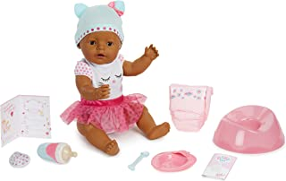 Baby Born Interactive Doll - Dark Brown Eyes