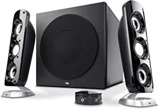 "Cyber Acoustics CA-3908 2.1 Stereo Speaker System with 6.5"" Subwoofer and Control.."