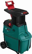 Bosch 600803170 AXT 25 D Quiet Shredder, Cutting Capacity 40 mm, Green/Black