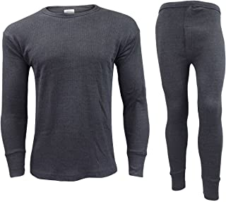 b3c059d0449d50 Gaffer Men Thermal Long Johns Bottoms Trousers Long Sleeve T Shirt Top Vest  Ski Wear