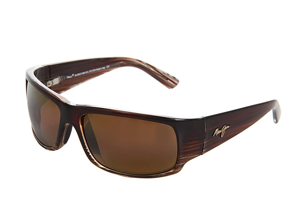 Maui Jim World Cup (Chocolate Stripe Fade/HCL Bronze) Sport Sunglasses