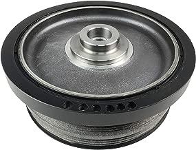 ACauto 11237793882 11237787304 11237801977 Engine Harmonic Balancer Crankshaft Belt Pulley Fits BMW E46 E60 E61 E83 E87 E90 E91 X3