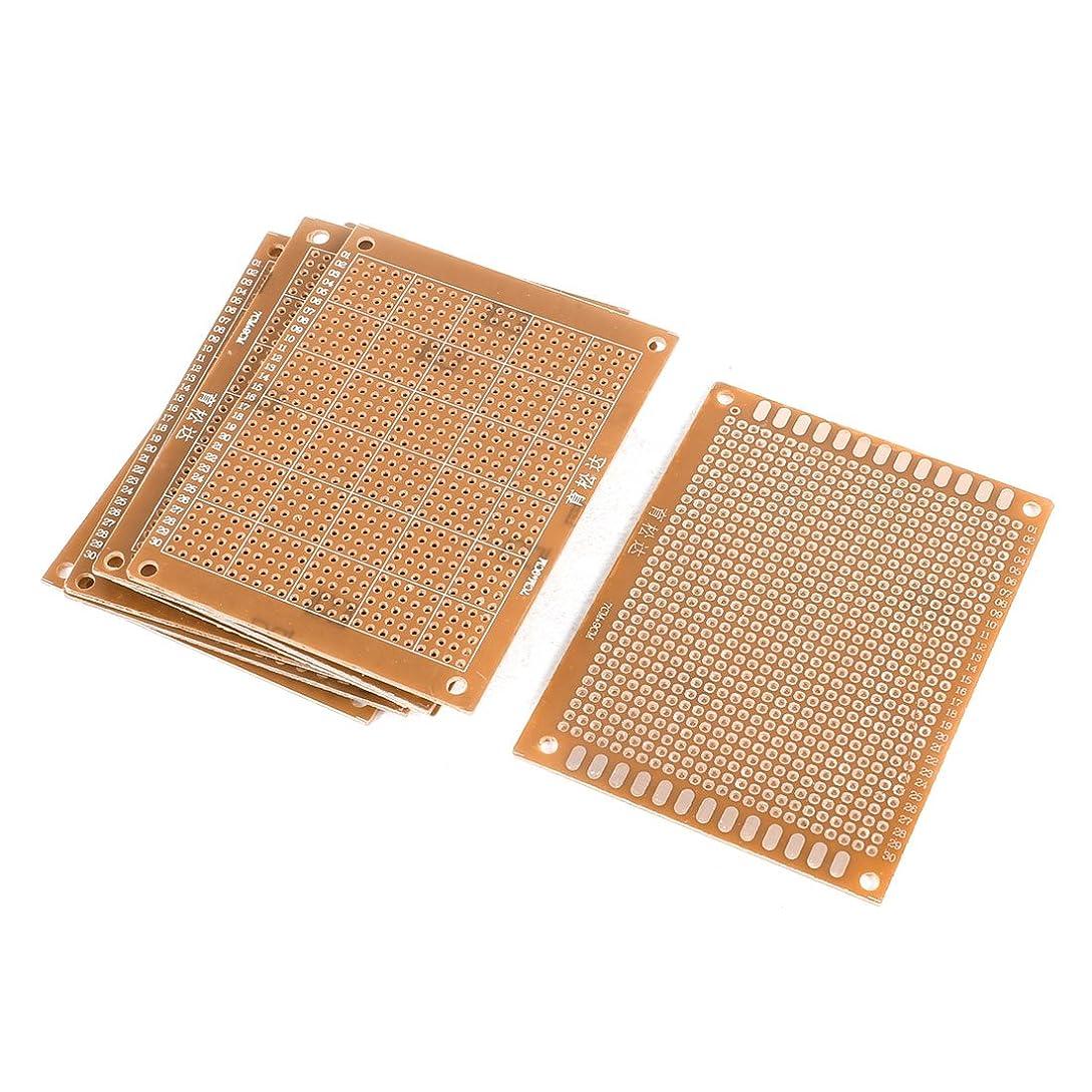 安心統治可能金曜日uxcell ユニバーサルPCBボード プリント基板 PBC電子回路基板 ブレッドボード FR-4 プロトタイプ 7cmx9cm 10個