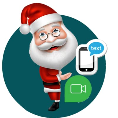 Get a text from Santa App