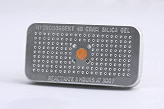 HYDROSORBENT OSG-40 Silica Gel Dehumidifier Desiccant 40 Gram Orange