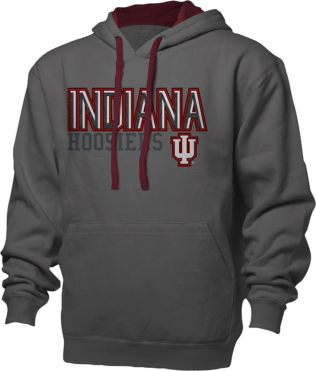 Ouray Sportswear NCAA Mens Benchmark Colorblock Pullover Hoodie