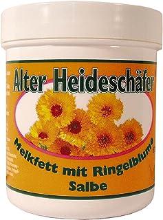 Alter Heideschäfer 5er Vorteilspack Melkfett Ringelblume, 5 Dosen a 100ml