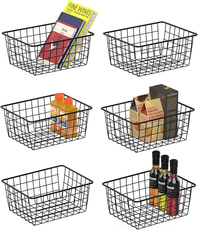 Wire 買取 Storage Basket iSPECLE Bask 2020春夏新作 Metal Freezer Food