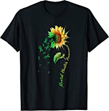 Mental Health Awareness Sunflower Shirt