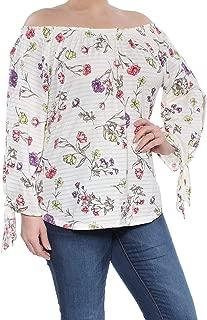 Lauren Ralph Lauren Knitted Off-The-Shoulder Top