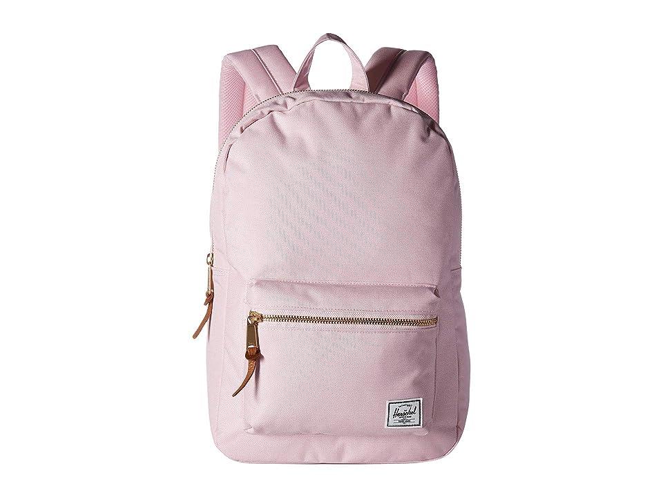Herschel Supply Co. Settlement Mid-Volume (Pink Lady Crosshatch) Backpack Bags