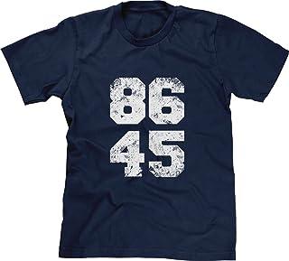 Blittzen Mens T-Shirt 86 45 Anti-Trump Impeachment