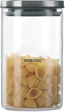 Borosil - Classic Glass Jar for Kitchen Storage, 900 ml
