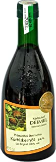 Kürbishof DEIMEL - 500ml Oryginalny styryjski olej z pestek dyni z Austrii - z gwarancją pochodzenia - bezpośrednio od pro...