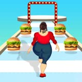Body food race run girl challenge 3d for fat racing 2 fit your catwalk runner beauty in this bounce running games 2021.New body racer to Collect & raise your reshape app on bridge Epic fun gameplay