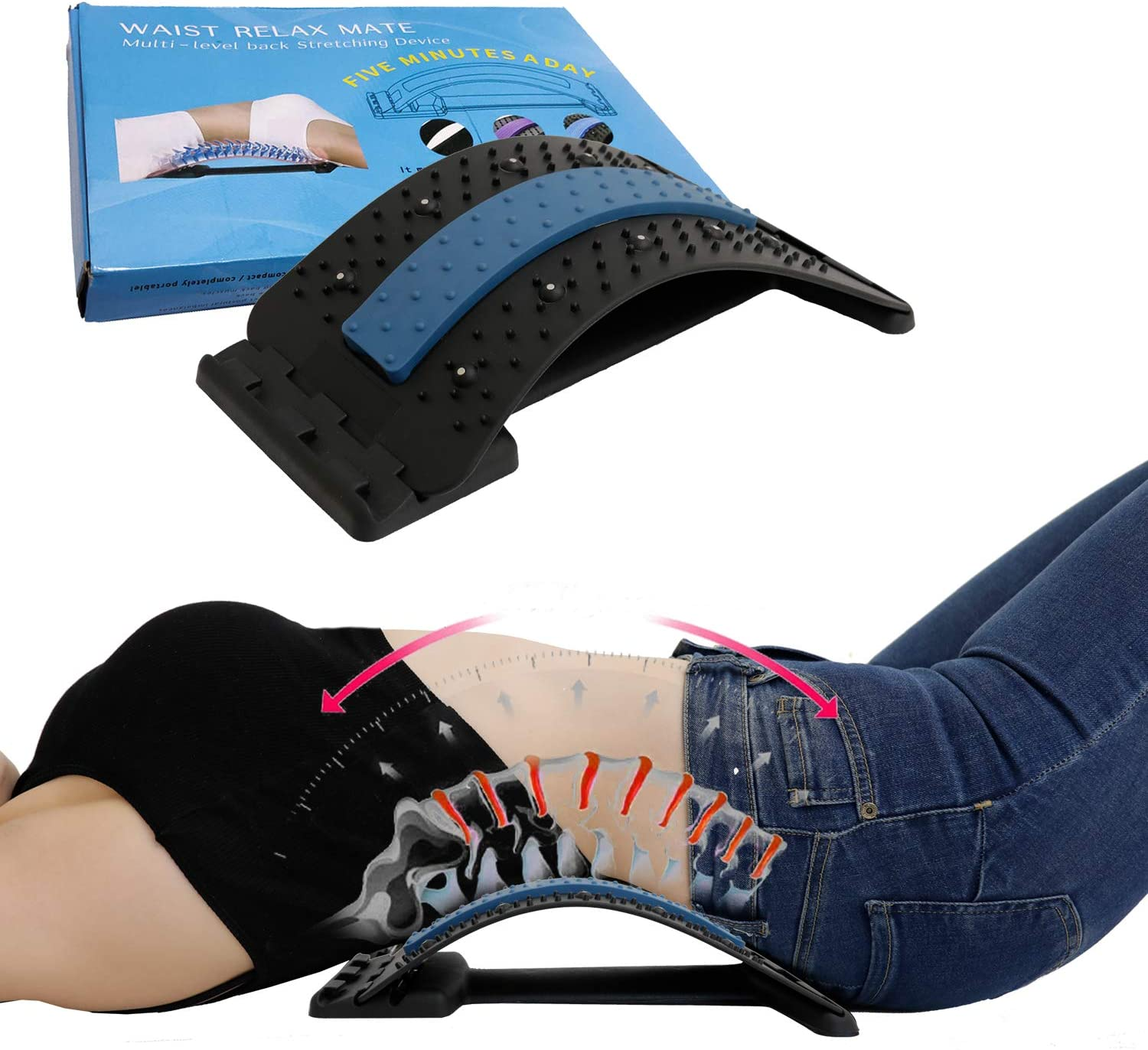 Spine Deck Max 55% OFF Back - Now free shipping Stretcher Reviews