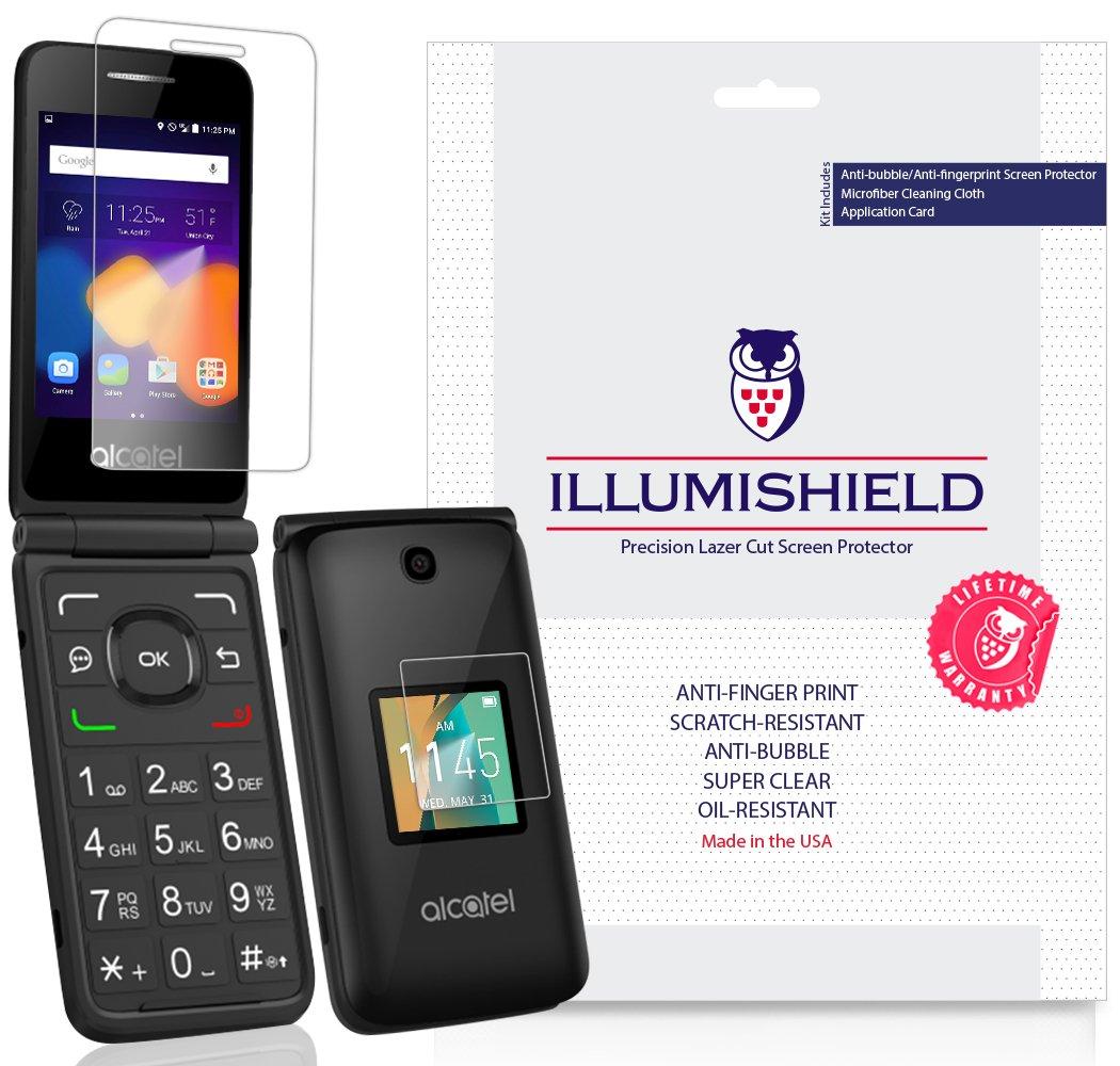 Alcatel Protector iLLumiShield Anti Bubble Anti Fingerprint