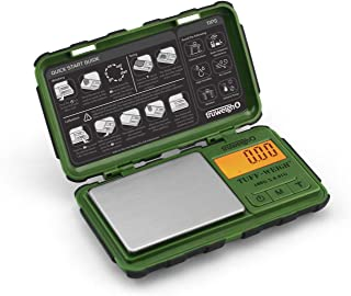 TUFF-WEIGH Digital Mini Scale 100g x 0.01g Green / Black