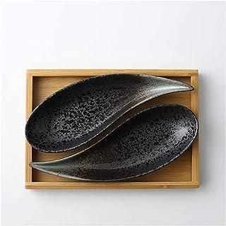 Voorgerecht borden Keramische dessertbord Gedroogde fruitschaal Snacks Kleine bord met dienblad Functie Assortiment Home F...